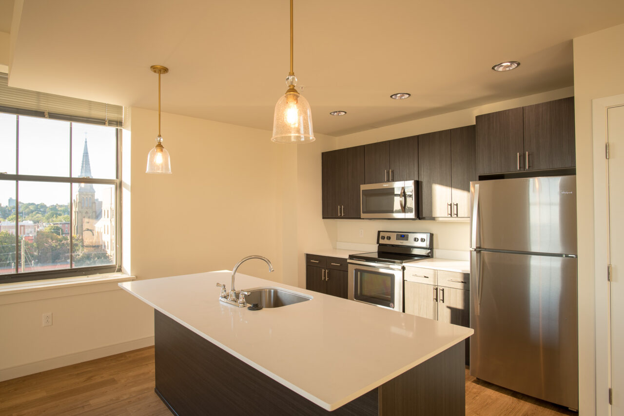 MKTPlace spacious kitchen with stainless steel appliances