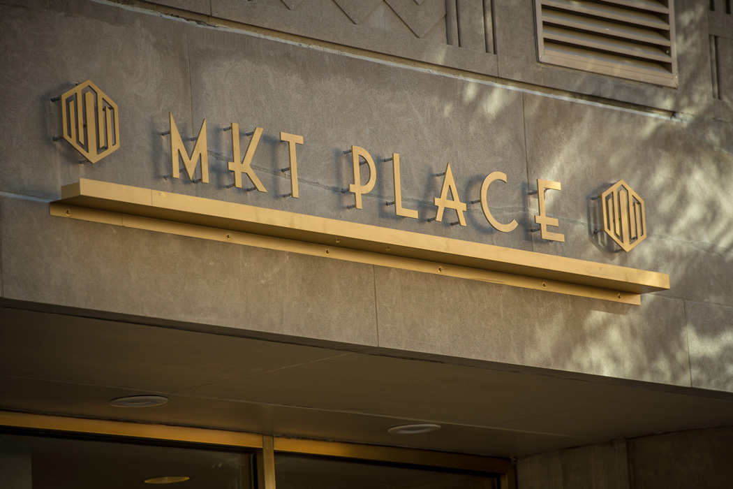 MKT Place entrance sign in Wilmington