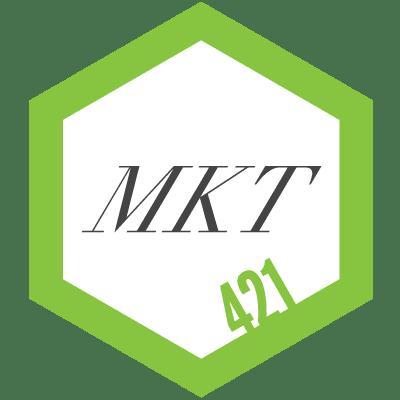 421 MKT logo
