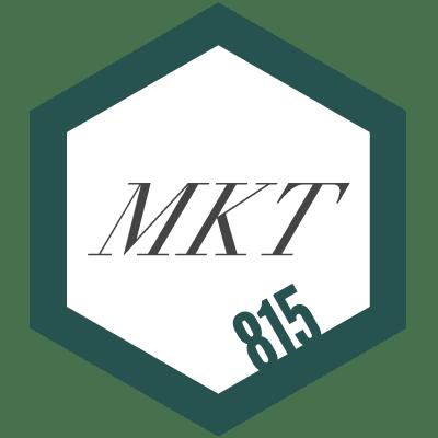 815 MKT logo