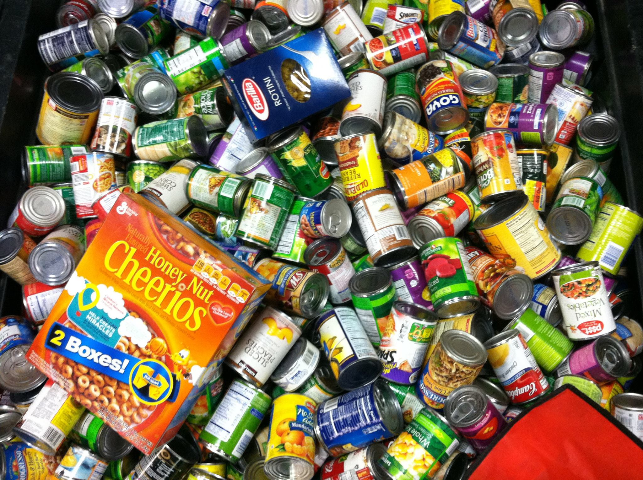 Thanksgiving Food Drive For The Food Bank Of Delaware