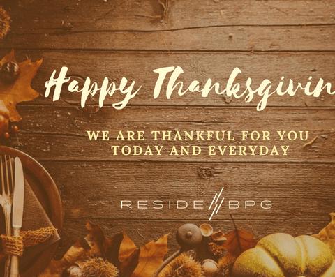 BesideBPG Happy Thanksgiving