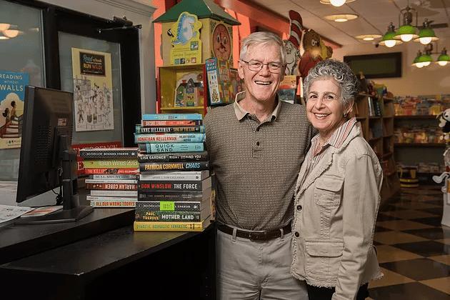 Book store owners in Downtown Wilmington, DE