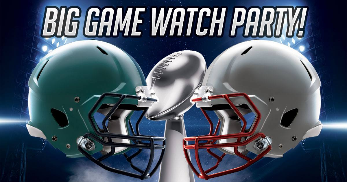 Big game watch advertisement
