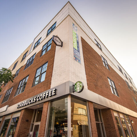 MKT apartments above Starbucks in Downtown Wilmington DE