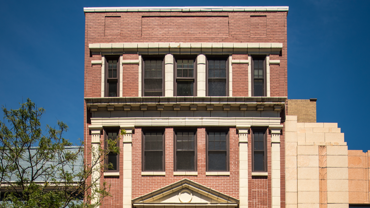 837 MKT exterior in Downtown Wilmington